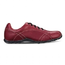 Women's Casual Collection #97701 Golf Shoes - Chablis (Red)
