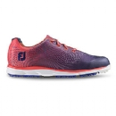 Women's emPower #98014 Golf Shoes - Papaya/ Navy